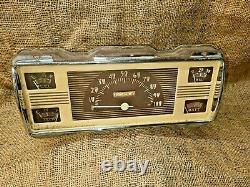Vintage Original Ford 1940 Speedometer Gauge Cluster Camion De Ramassage De Voiture 41 47